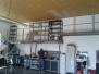 výroba a montáž skladové podesty
